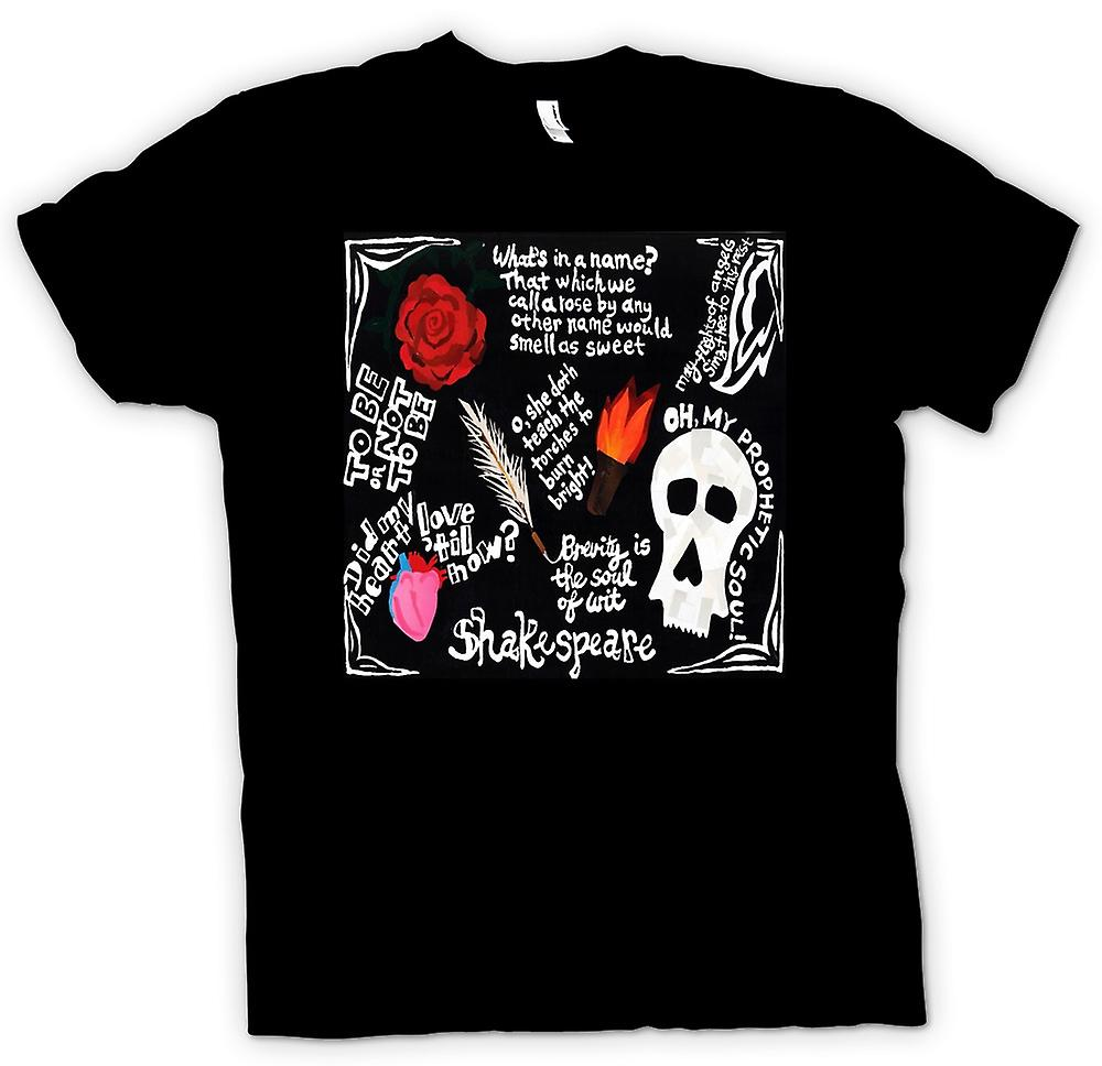 Herr T-shirt - Shakespeare - citat