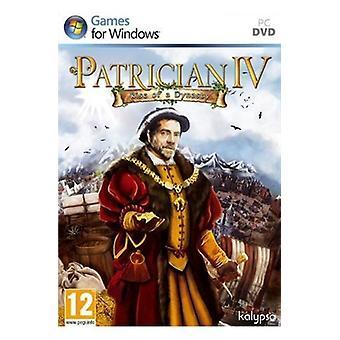 Patricier IV uppkomsten av en dynasti (PC CD)