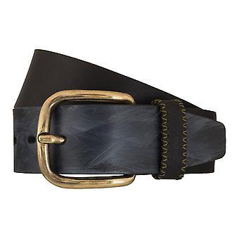 LLOYD Men's belt belts men's belts leather belt black 5354