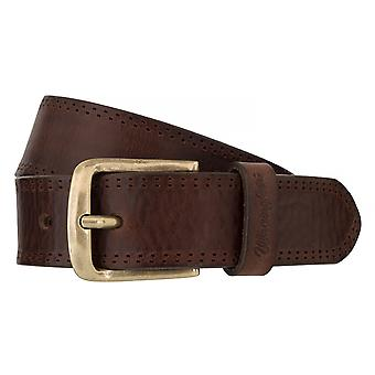 WRANGLER belt leather belts men's belts Brown 6532