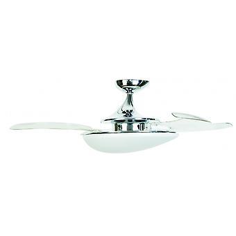 Loft Fan Fanaway Evo3 Asymmetric Chrome 122 cm/48