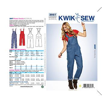 Overalls-XS-S-M-L-XL -*SEWING PATTERN*