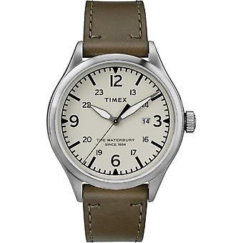 Timex mens watch Waterbury traditional 40 mm leather TW2R71100