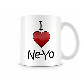 I Love Ne-Yo Printed Mug