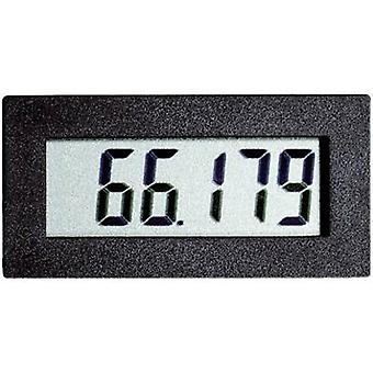 Digital rack-mount meter VOLTCRAFT DHHM 230 Operating hours counter module DHHM 230 Assembly dimensions 45 x 22 mm