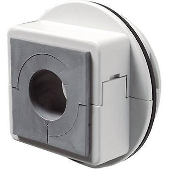 Icotek KVT 63/1 Cable grommet compartimentable Grey 1 pc(s)