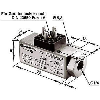Interruptor de presión 1 Norgren G1/4 hasta 16 bar de 1 paso