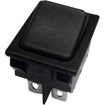 SCI Toggle switch R13-117D-01 250 V AC 10 A 2 x On/Off/On latch/0/latch 1 pc(s)