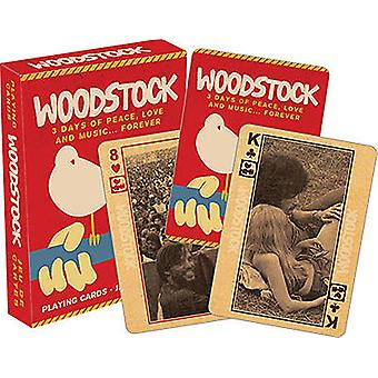 Woodstock Festival Set Of Playing Cards (52281)