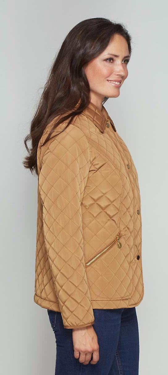 Ladies luxury quilted gilet David Barry DB553