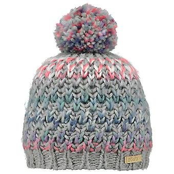 Barts Girls Nicole Super Soft Teddy Lined PomPom Bobble Beanie Hat