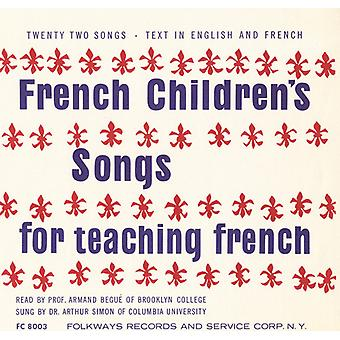Begue/Simon - French Children's Songs for Teaching French [CD] USA import