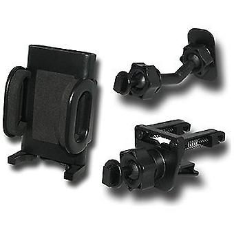 Verizon Universal Car Mount udluftning/klæbemiddel Combo for iPhone 4/5/6/7/8, fed 9930