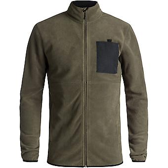 Quiksilver Mens Butter Warm Full Zip Technical Fleece Jacket
