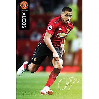 Manchester United Poster Alexis Sanchez 55
