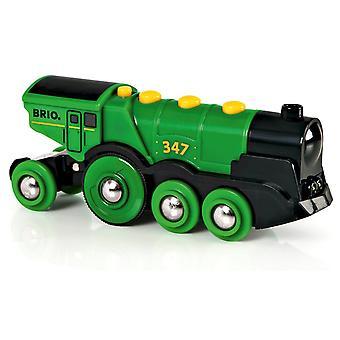 大きなグリーン アクション機関車ブリオ鉄道