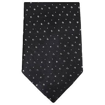 Knightsbridge Neckwear Glitter Tie - Black
