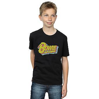 ديفيد باوي الأولاد القمر التسعينات شعار تي شيرت