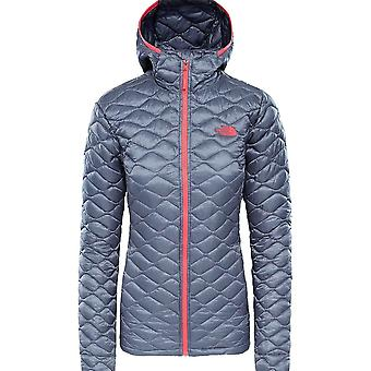 North Face Women's Thermoball Hoodie - Grisaille Grey