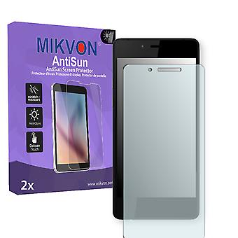 Wiko Highway Pure Screen Protector - Mikvon AntiSun (Retail Package with accessories)