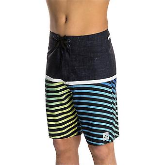 Rip Curl Blue Indigo Mirage Combined Print - 17 Inch Kids Boardshorts