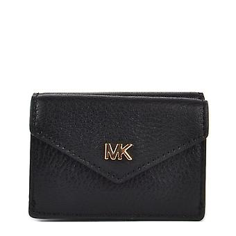 MICHAEL by Michael Kors Money Pieces Black Small Trifold Flap Wallet