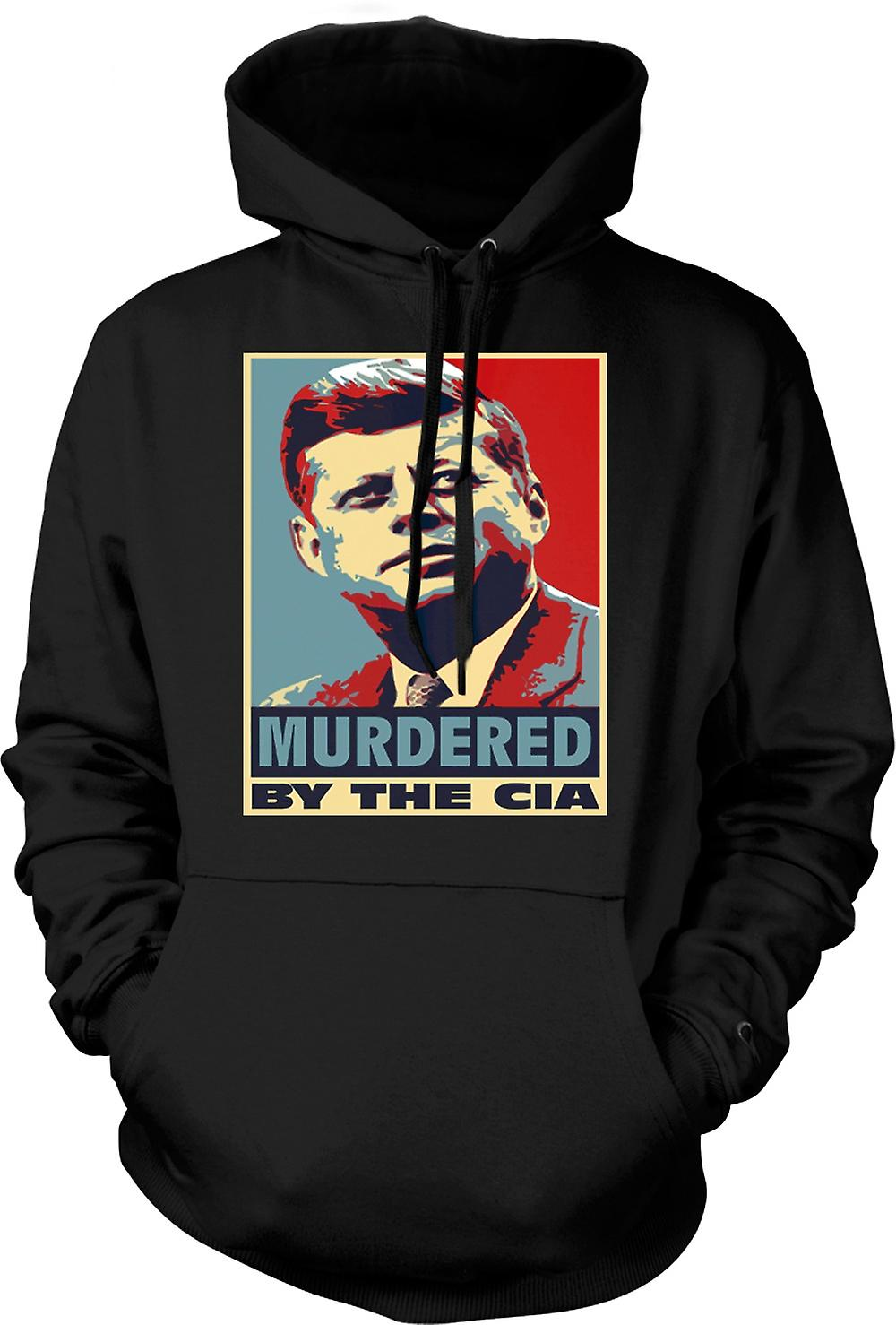 Mens Hoodie - JFK Murdered By CIA