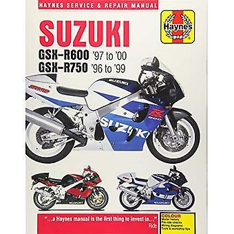 Suzuki GSX-R600 & 750 Motorcycle Repair Manual