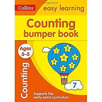 Räkna stötfångare bok åldrarna 3-5 (Collins lätt lärande förskola) (Collins lätt lärande förskola)
