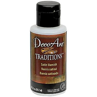Deco Art Satin Varnish 3Oz-3Oz