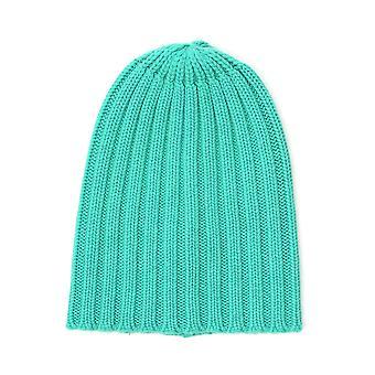Laneus Green Cashmere Hat