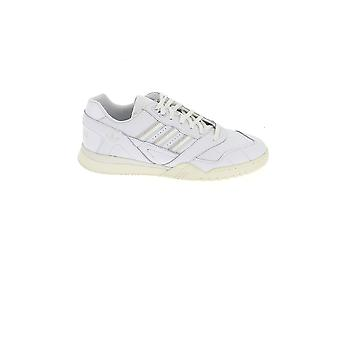 Adidas White Leather Sneakers