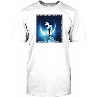 Unicorn - Surreal Fantasy Design Kids T Shirt