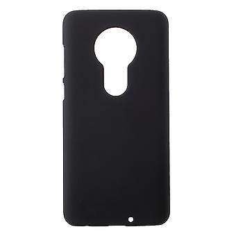 Motorola Moto G7 Plus/G7 Shell plástico Shell negro ahulado