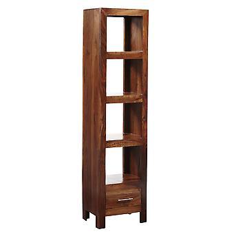 Oslo Sheesham Slim Jim Bookcase