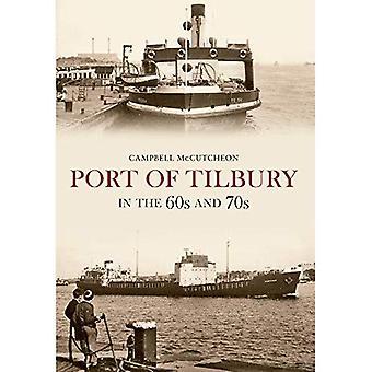Hafen von Tilbury in den 60er und 70er Jahren
