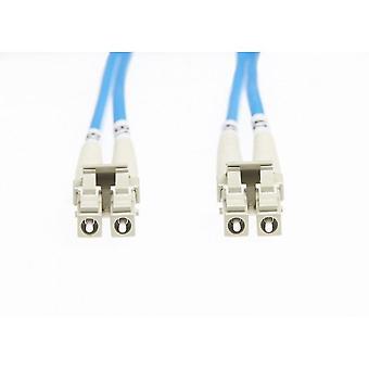 Blaue Lc-Lc Om4 Multimode Fibre Optic Cable