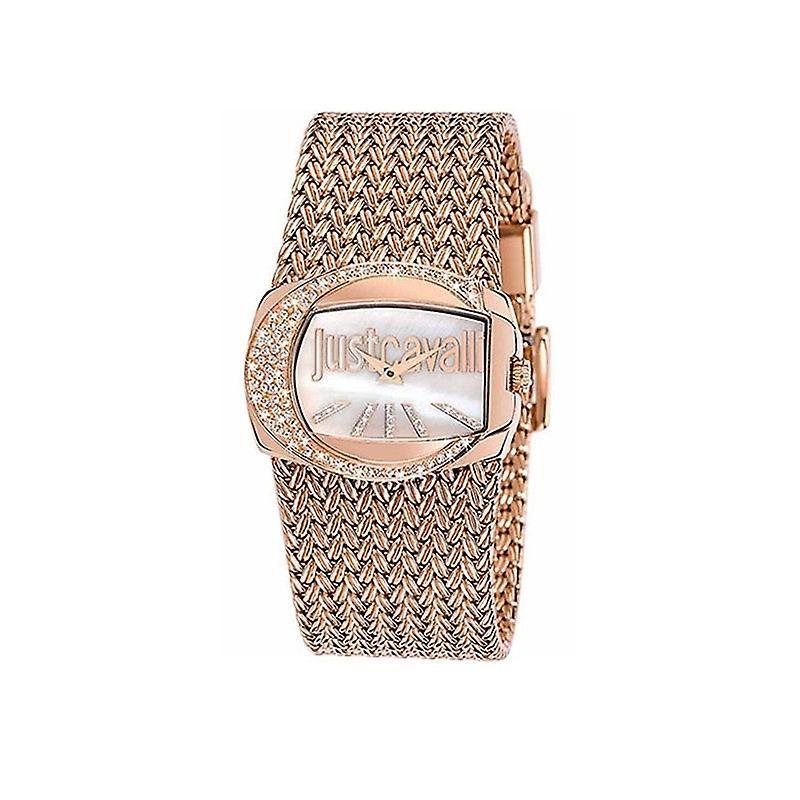 Just Cavalli Les dames or rose riche montre R7253277002