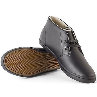 Byron Fred Perry masculino meados couro sapatos B7434-102