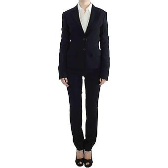 Exte Black Two Button Two Piece Suit -- SIG3195269