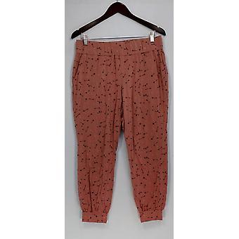 Anybody Petite Lounge Pants, Sleep Shorts MP Cozy Knit Novelty Beige A298207