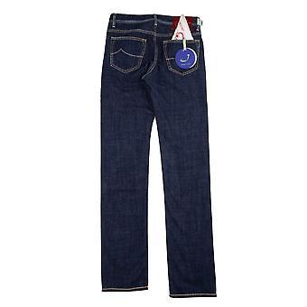 Jacob Cohen J688 Red patch jeans Navy