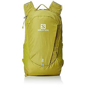 Salomon LC1084700 Trailblazer 20 kevyt reppu vaellus tai pyöräily-keltainen (Citronelle)-20 l