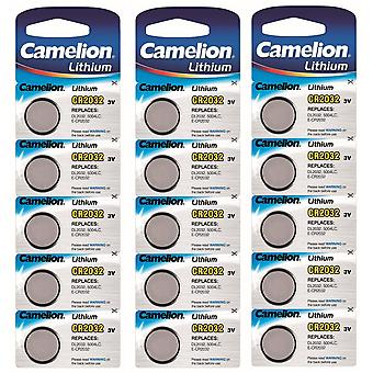 Camelion Lithium Batterie CR2032 15-Pack