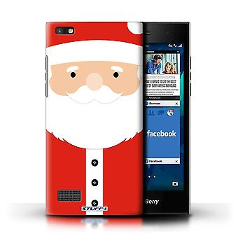 STUFF4 Case/Cover for Blackberry Leap/Santa Claus/Christmas Character
