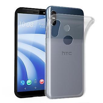 Cadorabo Case for HTC U12 LIFE Case Cover - Mobile Phone Case made of flexible TPU silicone - Silicone Case Protective Case Ultra Slim Soft Back Cover Case Bumper