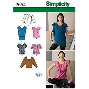 Simplicity Misses Tops Vests 6 8 10 12 14 U02554h5