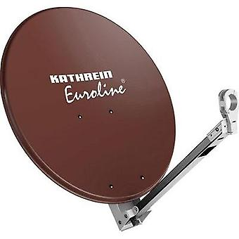 SAT antenna 75 cm Kathrein KEA 750 Reflective material: Aluminium Red brown