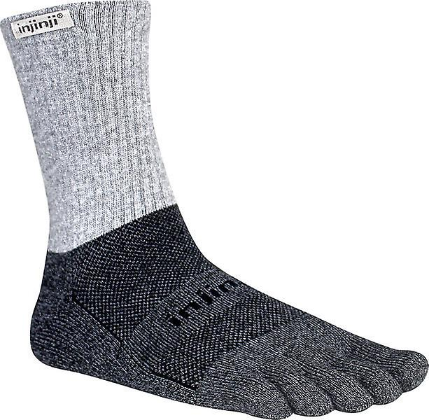 Injinji Trail 2.0 Mid Weight Crew Toesocks