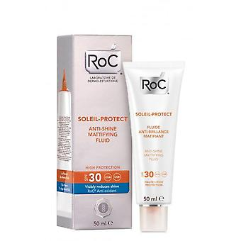 Roc Protect Soleil 30 Fluid Mattifying 50 Ml (Woman , Cosmetics , Sun Care , Protectors)